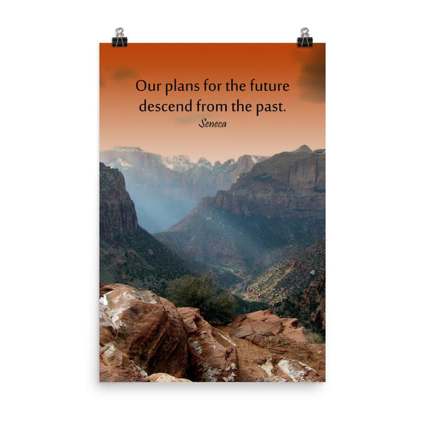 Plans for the Future - Premium Safety Poster