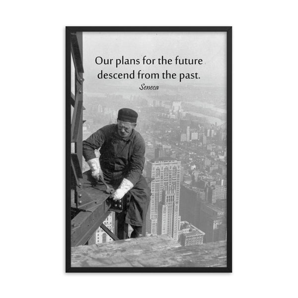 Plans for the Future - Framed Safety Posters