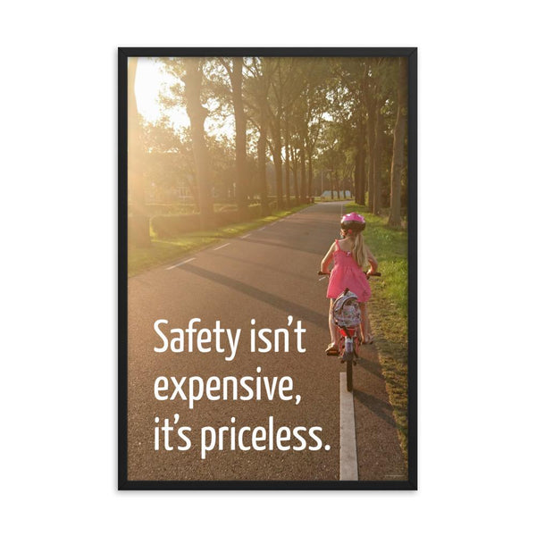 Safety Isn't Expensive - Framed