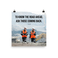 Road Ahead - Premium Safety Poster Poster Inspire Safety 18×18