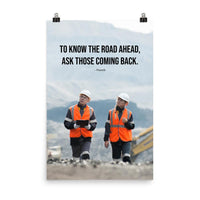 Road Ahead - Premium Safety Poster Poster Inspire Safety