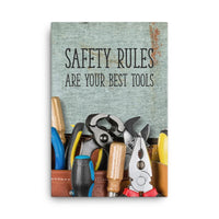 Safety Rules - Canvas Canvas Inspire Safety