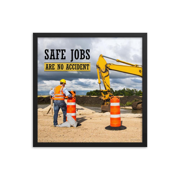Safe Jobs - Framed