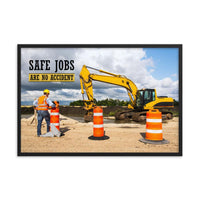 Safe Jobs - Framed Framed Inspire Safety