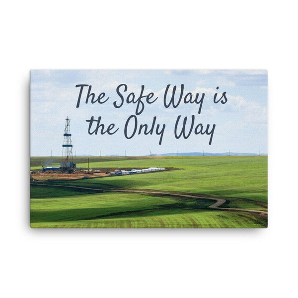 The Safe Way - Canvas Canvas Inspire Safety