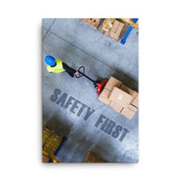 Safety First - Canvas Canvas Inspire Safety