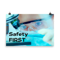 Safety First - Premium Safety Poster Poster Inspire Safety