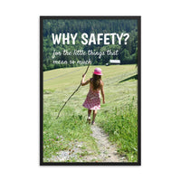 Why Safety - Framed Framed Inspire Safety