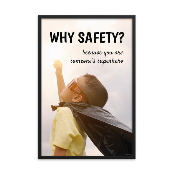 Why Safety - Framed