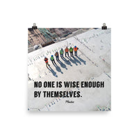 Wise Enough - Premium Safety Poster Poster Inspire Safety 18×18