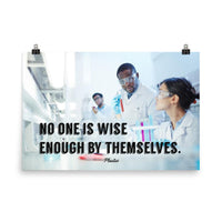 Wise Enough - Premium Safety Poster Poster Inspire Safety