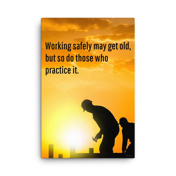 Working Safely - Canvas