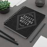 Safety Meeting Notes - Spiral Bound Journal