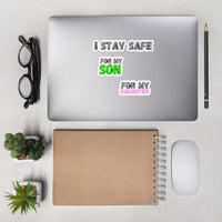 I Stay Safe - Sticker