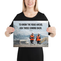 Road Ahead - Premium Safety Poster Poster Inspire Safety 12×16