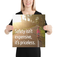 Safety Isn't Expensive - Premium Safety Poster Poster Inspire Safety 16×16