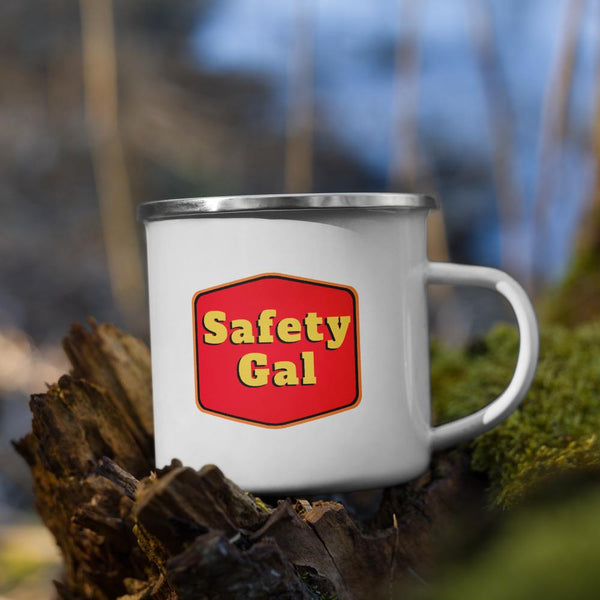 Safety Gal - Enamel Mug Mug Inspire Safety
