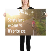 Safety Isn't Expensive - Premium Safety Poster Poster Inspire Safety