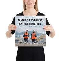 Road Ahead - Premium Safety Poster Poster Inspire Safety 14×14