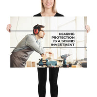 Sound Investment - Premium Safety Poster Poster Inspire Safety 24×36