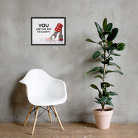You Are The Key - Framed Framed Inspire Safety 16×20
