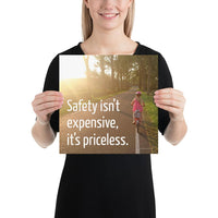 Safety Isn't Expensive - Premium Safety Poster Poster Inspire Safety 12×12