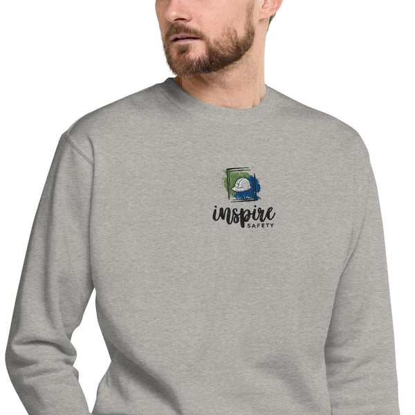 Inspire Safety - Unisex Fleece Pullover Shirt Inspire Safety Carbon Grey S