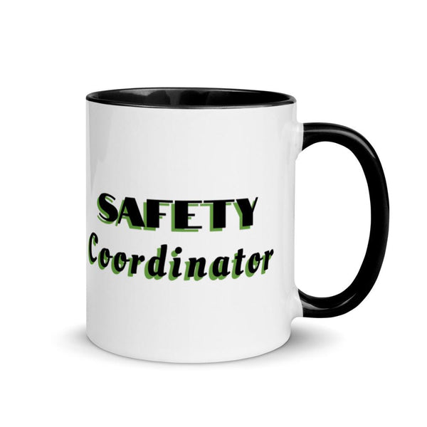 Safety Coordinator - Ceramic Mug with Color Inside