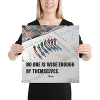 Wise Enough - Premium Safety Poster Poster Inspire Safety 16×16