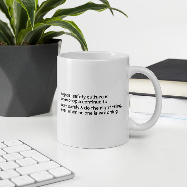 Great Safety Culture - Ceramic Mug Mug Inspire Safety