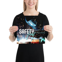 Safety First - Premium Safety Poster Poster Inspire Safety 12×12