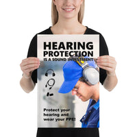 Sound Investment - Premium Safety Poster Poster Inspire Safety 12×18