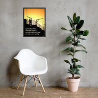 Great Safety Culture - Framed Framed Inspire Safety 18×24