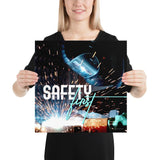Safety First - Premium Safety Poster Poster Inspire Safety 16×16