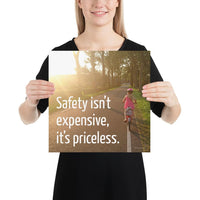Safety Isn't Expensive - Premium Safety Poster Poster Inspire Safety 14×14
