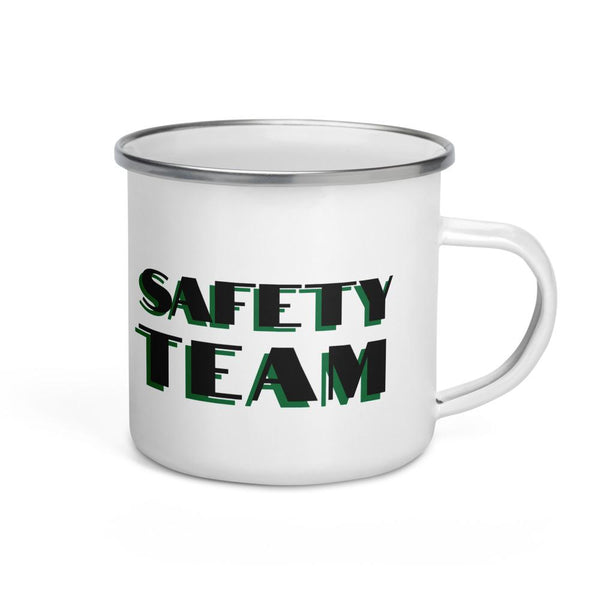 Safety Team - Enamel Mug Mug Inspire Safety