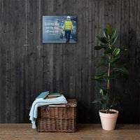 Keep Thy Shop - Canvas Canvas Inspire Safety 16×20
