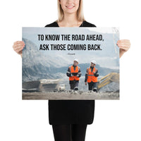 Road Ahead - Premium Safety Poster Poster Inspire Safety 18×24