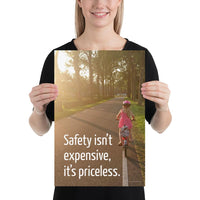 Safety Isn't Expensive - Premium Safety Poster Poster Inspire Safety 12×18