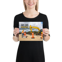 Safe Jobs - Premium Safety Poster Poster Inspire Safety 8×10