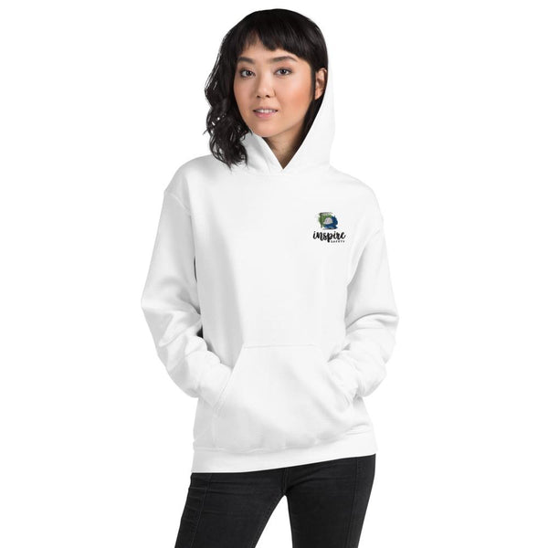 Inspire Safety - Unisex Hoodie Shirt Inspire Safety White S