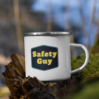 Safety Guy - Enamel Mug Mug Inspire Safety