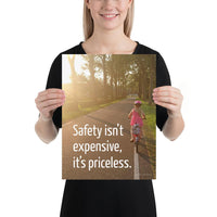 Safety Isn't Expensive - Premium Safety Poster Poster Inspire Safety 12×16
