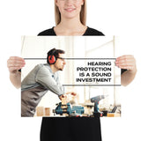 Sound Investment - Premium Safety Poster Poster Inspire Safety 16×20