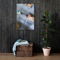Safety First - Canvas Canvas Inspire Safety 24×36