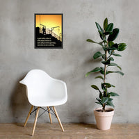 Great Safety Culture - Framed Framed Inspire Safety 16×20