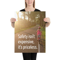 Safety Isn't Expensive - Premium Safety Poster Poster Inspire Safety 18×24