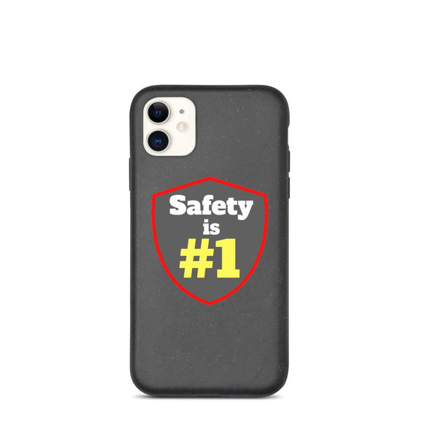 Safety is #1 - Biodegradable Phone Case Phone Case Inspire Safety iPhone 11