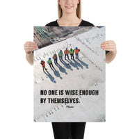 Wise Enough - Premium Safety Poster Poster Inspire Safety 18×24