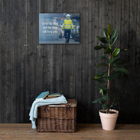 Keep Thy Shop - Canvas Canvas Inspire Safety 18×24